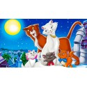 Movie the Aristocats Disney - Plush, games and toys, collection