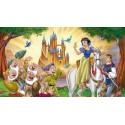 Blanche Neige y los 7 enanitos Disney - peluche de colección de juguetes juegos